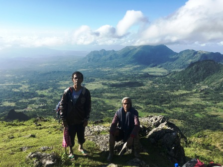 Guides on ascent of Matebean (Nicholas Hughes, July 2018)