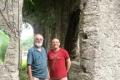Nick and Roland in Escola do Reino de Haudere (Nicholas Hughes, July 2018)