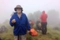 Nick below summit of Matebean (Brigette Haering, Jluy 2018)