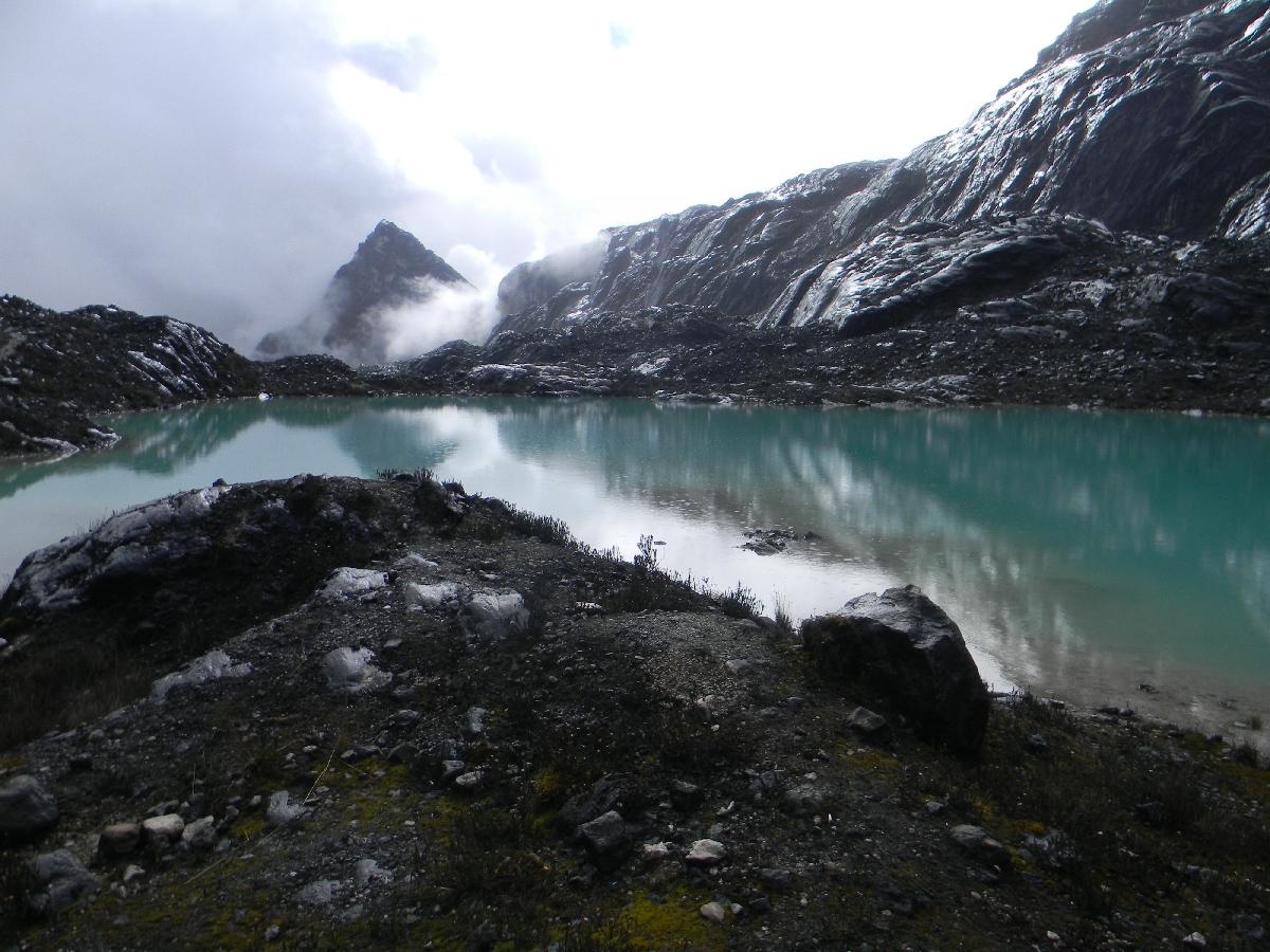 Lake at Carstensz basecamp (Robert Cassady, 2010)