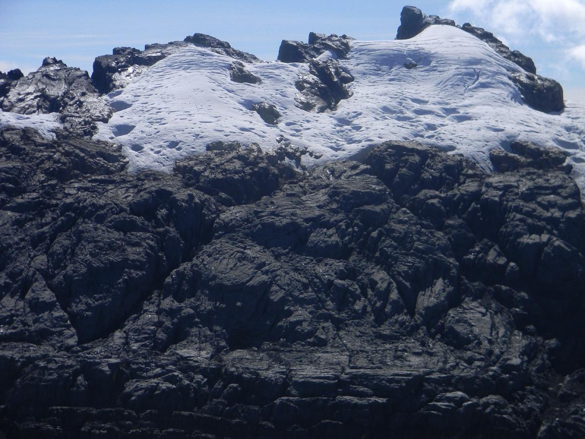 Puncak Jaya - Sumantri and north wall firn (Robert Cassady, 2010)
