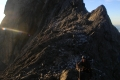 Summit ridge of Carstensz Pyramid (Robert Cassady, 2010)