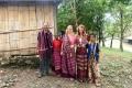 Traditional Timorese tais in village near Ossu (Lisa Peterskovsky, July 2018)